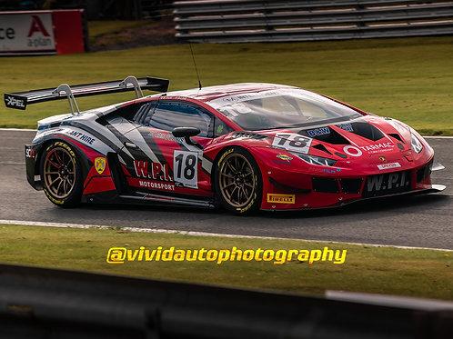 Lamborghini Huracan GT3 | WPi Motorsport | Oulton Park