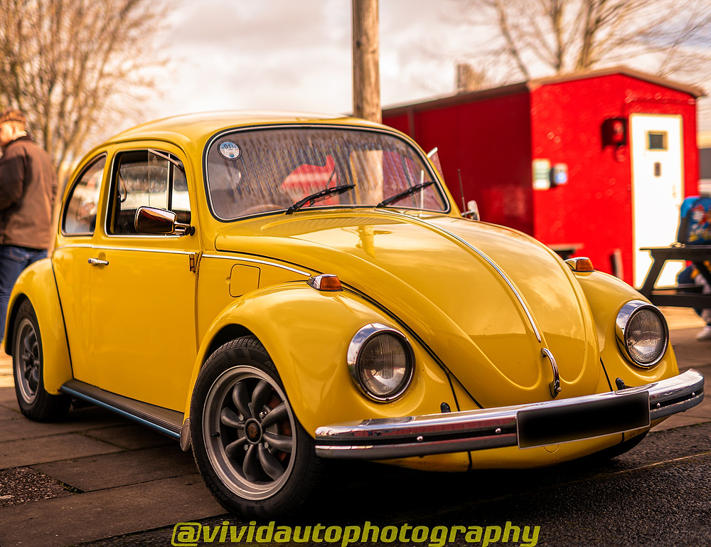 Volkswagen Beetle front three quarters