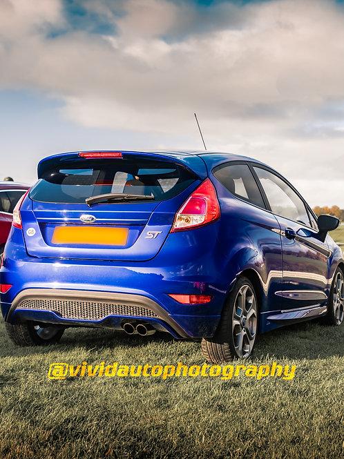 Ford Fiesta ST MK7 Spirit Blue | Oulton Park