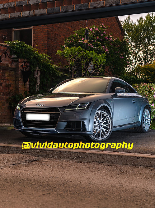 Audi TTS Coupe Front Three Quarters