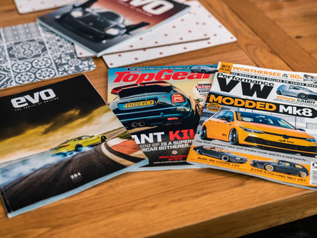 How car magazines made be a better automotive photographer