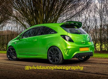 Vauxhall Corsa VXR Nurburgring Edition Crewe Hall Photoshoot
