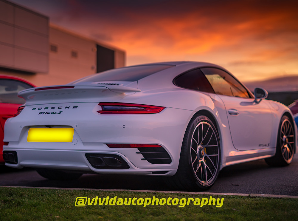 Porsche 911 Turbo S rear three quarters | Evening