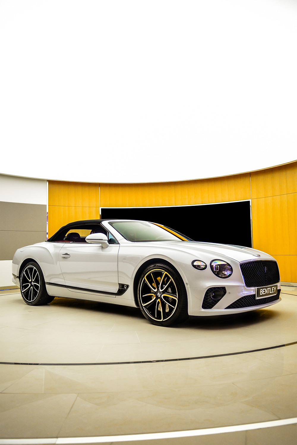 Bentley Continental GT Convertible front three quarters | Bentley CW1 House