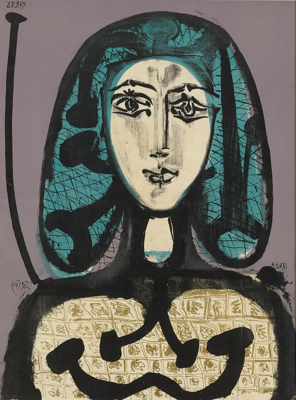 La Femme à la Résille (Femme aux Cheveux verts)