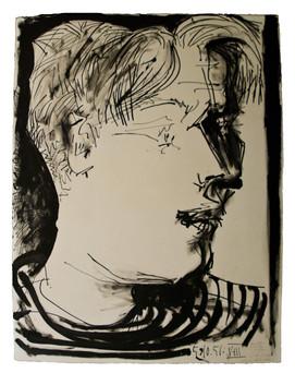 [Drawing] Portrait d'Édouard Pignon