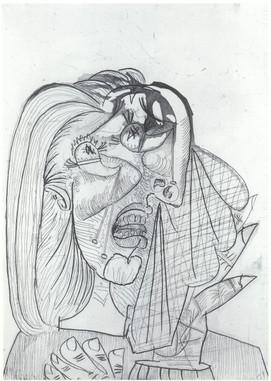 La Femme qui pleure