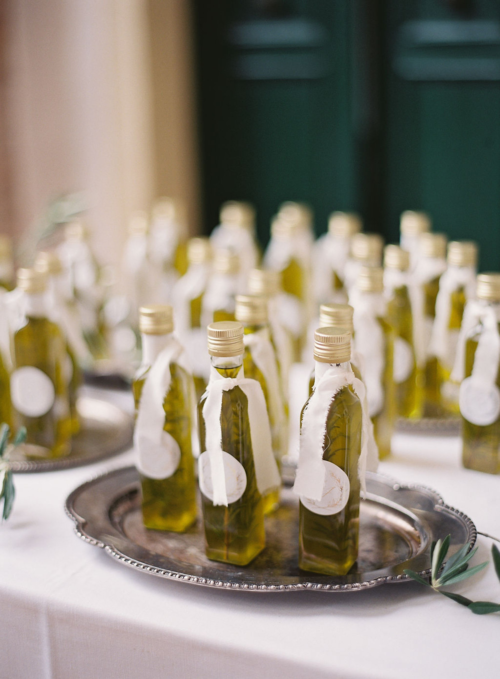 Oliveoil  guestgift for wedding in Tuscany