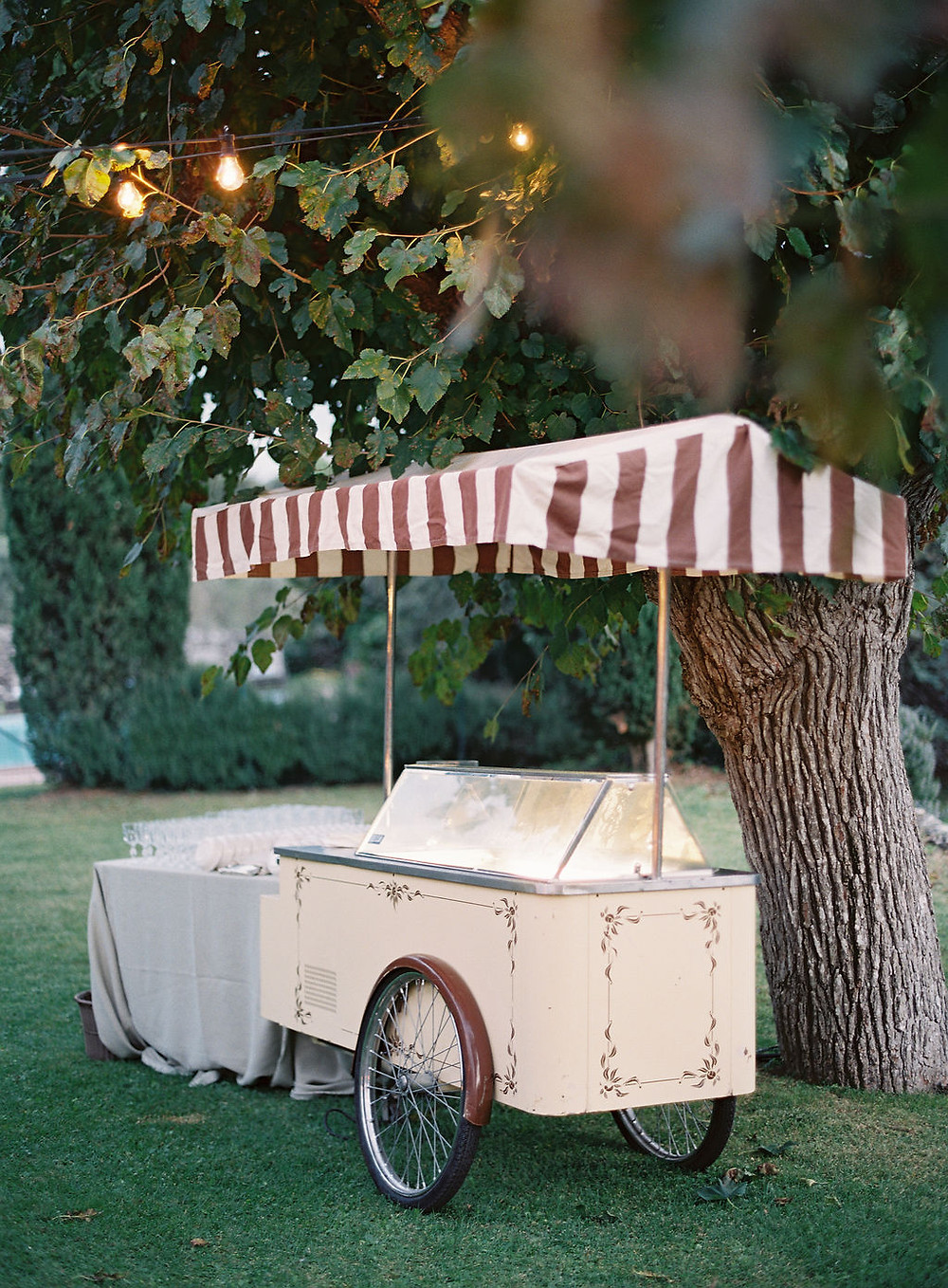Gelato Truck wedding Tuscany Kurt Boomer Photography