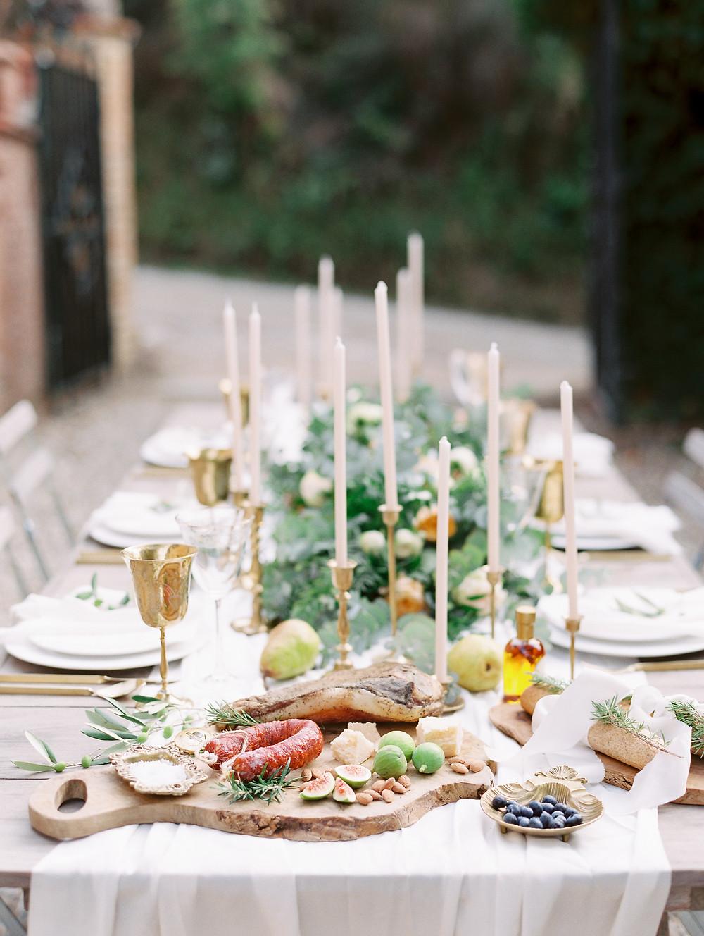 Weddingtable Tuscany