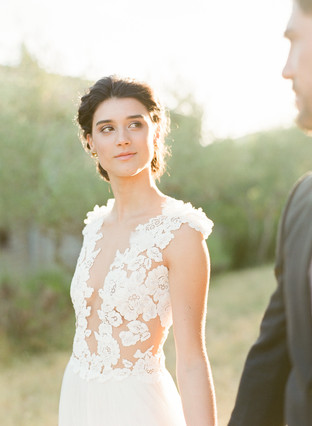 Elegant wedding at the magical Villa Montanare  featured at Style me Pretty