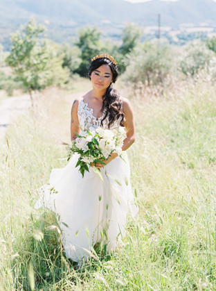 Intimate Tuscan Wedding at Villa Montanare with Foraged Florals