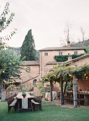 ROMANTIC PIZZA PARTY AT THE DREAMY LA CERBAIA AT CETINALE