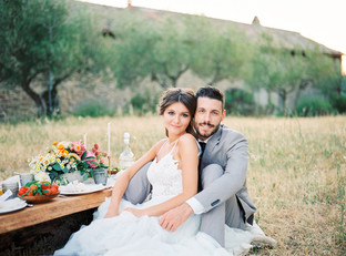 Picnic Wedding at the magical Villa Montanare