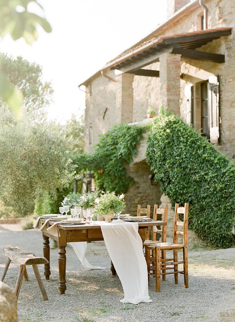 Villa Montanare Al Fresco Dining