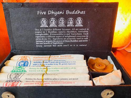 Five Dhyani Buddha Incense