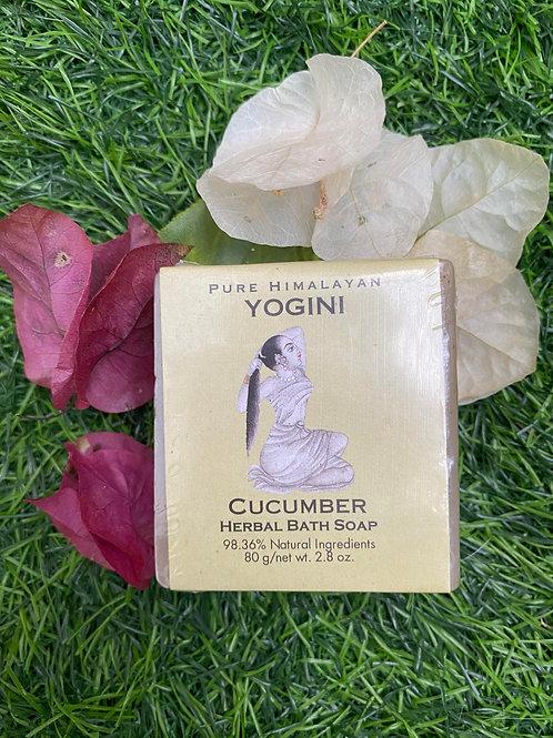 Yogini Cucumber Herbal Bath Soap