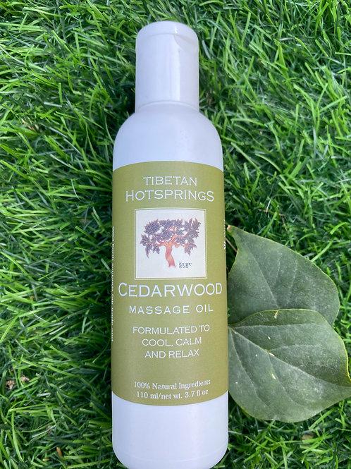 Cedarwood Massage Oil