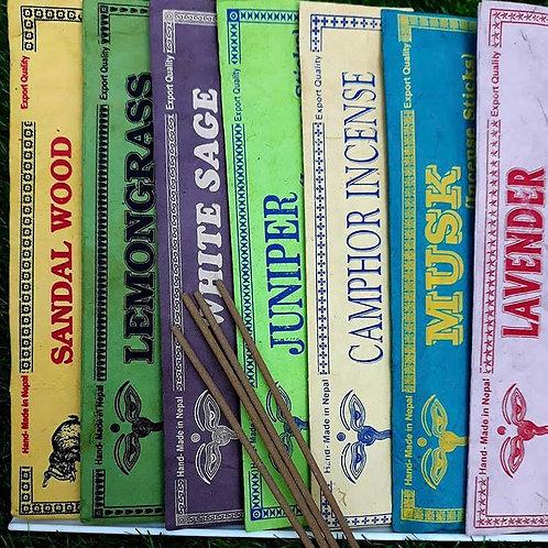 Pack Of 3 Natural Incense