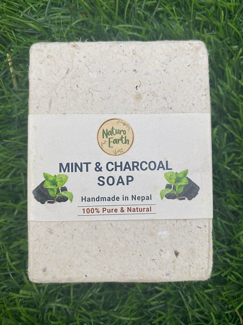 Mint & Charcoal Natural Soap