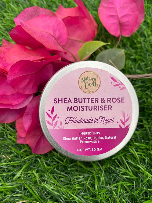 Shea Butter And Rose Moisturiser