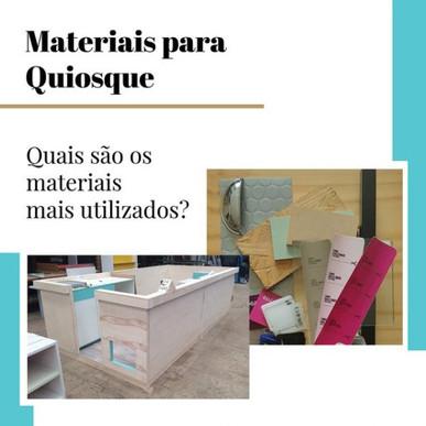 Materiais Quiosques Para Shopping