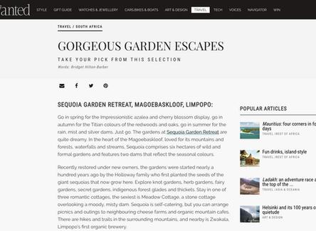 Gorgeous Garden Escapes