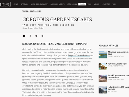 Gorgeous Garden Escapes
