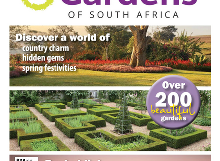 Open Gardens of South Africa Magazine