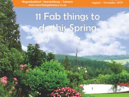 Mountain Getaways Spring Issue