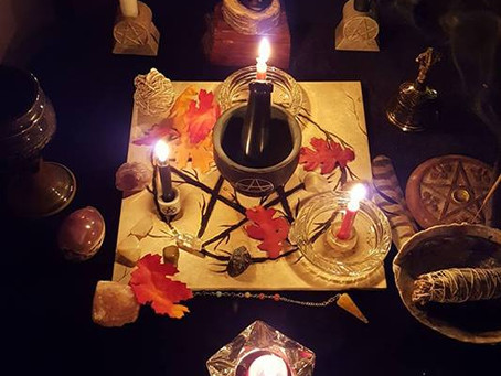 Witches Altars.