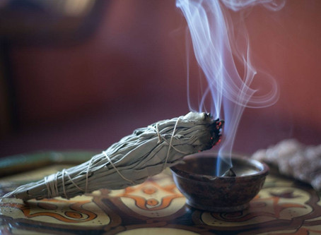 All about smudging.