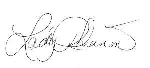 Lady Rhiannon sign