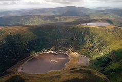 Turlough Hill recently featured on Eco Eye with Dr Cara Austenborg.