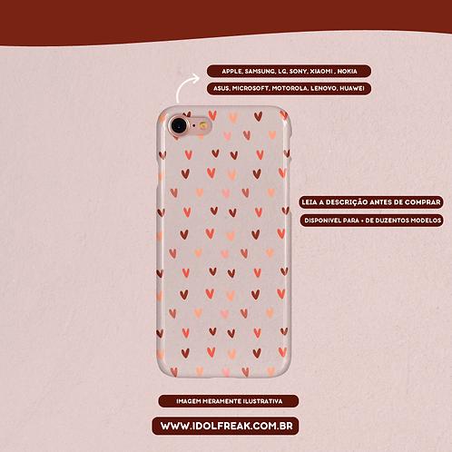CAPA DE CELULAR: HEART (TRANSPARENTE)