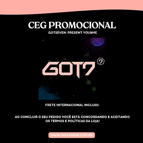 CEG PROMOCIONAL: GOT7, PRESENT YOU&ME (FRETE INTERNACIONAL INCLUSO)