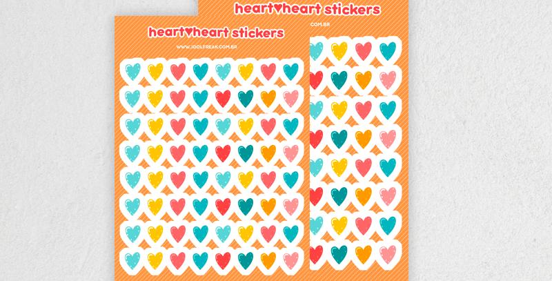 [ADESIVOS] HEART♥HEART