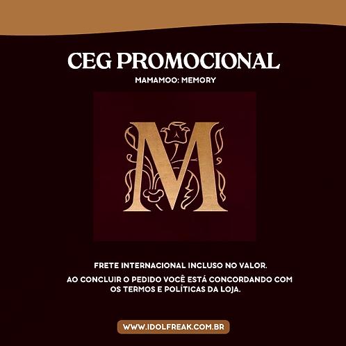 CEG PROMOCIONAL: MAMAMOO, MEMORY (FRETE INTERNACIONAL INCLUSO)