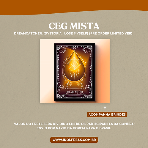 CEG MISTA: [Dystopia : Lose Myself] (Pre-order Limited Edition)