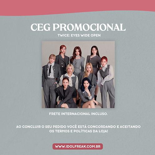 CEG PROMOCIONAL: TWICE, EYES WIDE OPEN VER. RETRO (FRETE INTERNACIONAL INCLUSO)