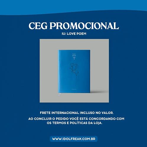 CEG PROMOCIONAL: IU, LOVE POEM (FRETE INTERNACIONAL INCLUSO)