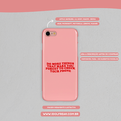 CAPA DE CELULAR: DO MORE THINGS THAT MAKE YOU FORGET TO CHECK YOUR PHONE