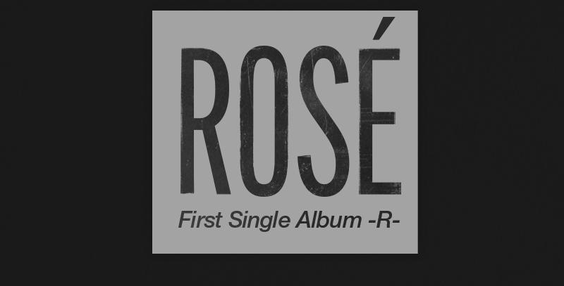ROSÉ: -R- (SEM FRETES INCLUSOS)