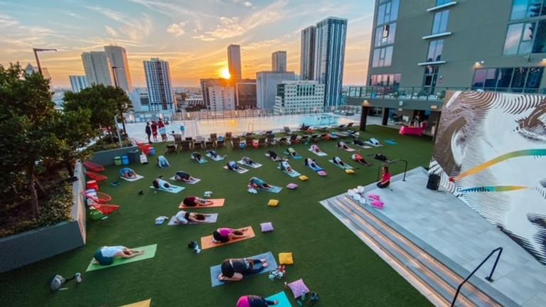Namaste Nights: Sunset Yoga + Sound Bowls