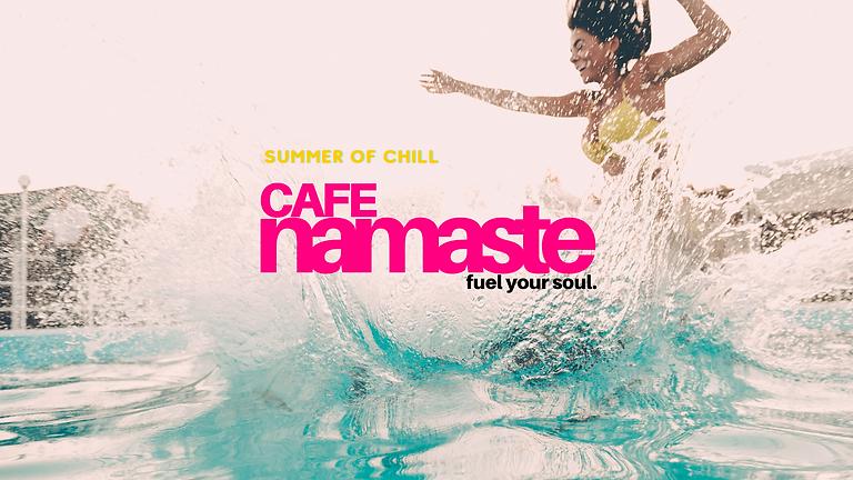 Cafe Namaste:  Yoga + Brunch + Pool
