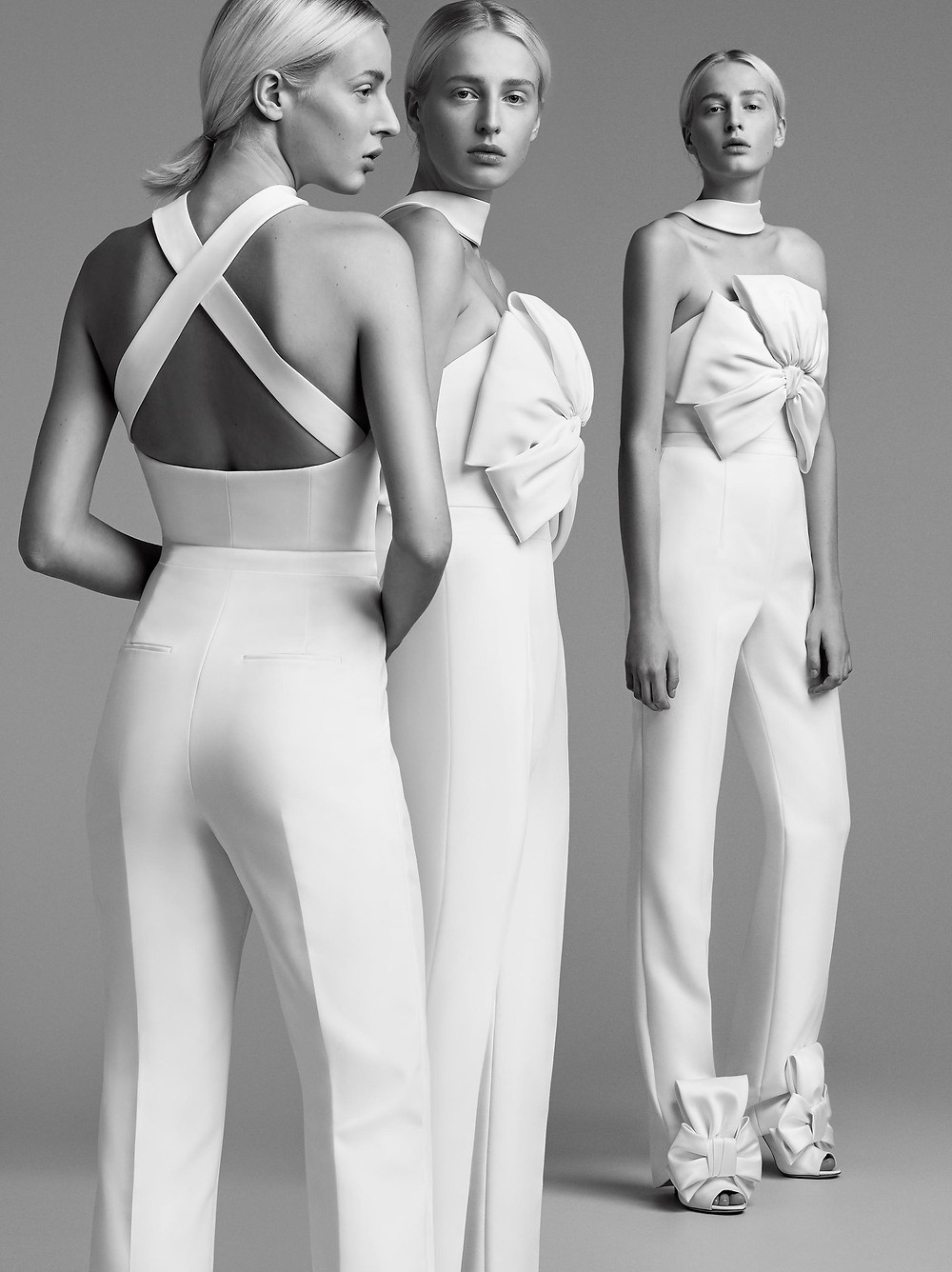Viktor & Rolf wedding jumpsuit or pantsuits with a bow