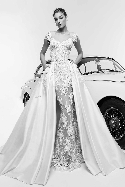 Weddinspired | 50+ Detachable Skirt Wedding Dresses | Zuhair Murad from the Spring 2019 collection