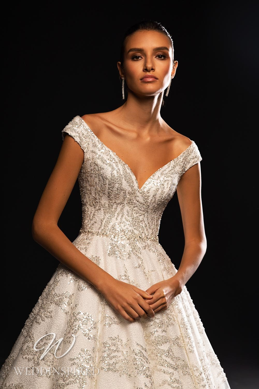 A WONÁ Concept 2021 off the shoulder princess wedding dress