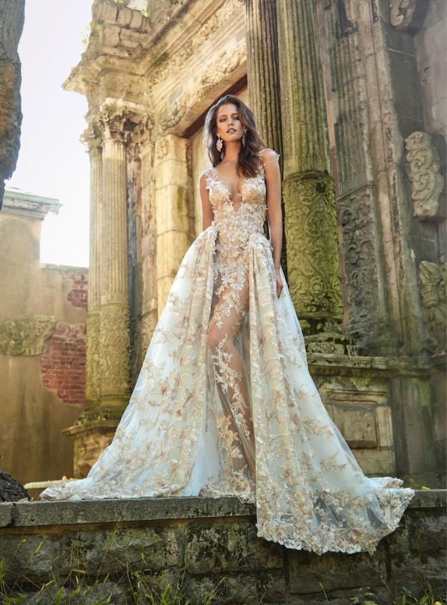 Weddinspired | 50+ Detachable Skirt Wedding Dresses | Galia Lahav from the Le Secret Royal Part II collection