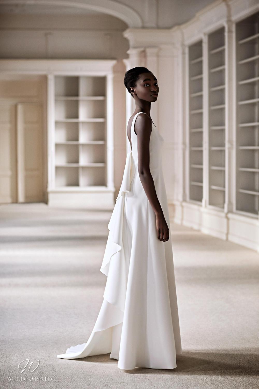 A Viktor & Rolf 2021 A-line wedding dress with ruffles